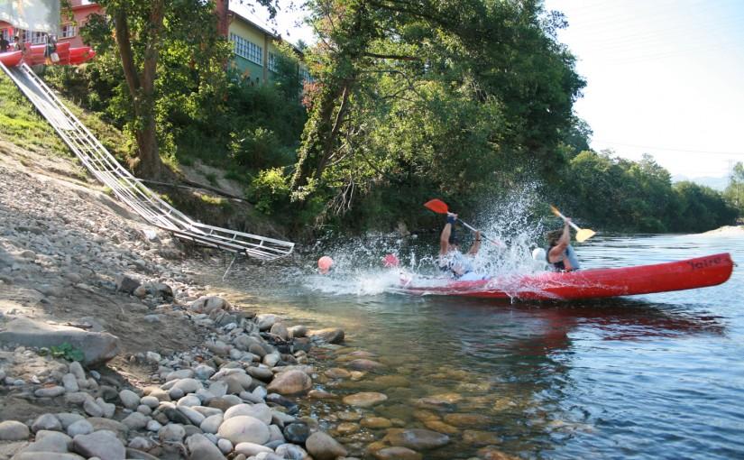 La experiencia de descender el Rio Sella