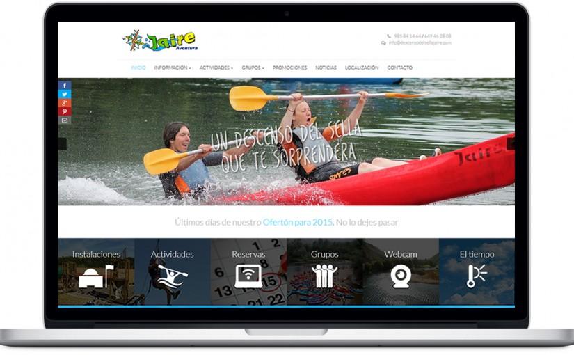 Nuestra nueva página web